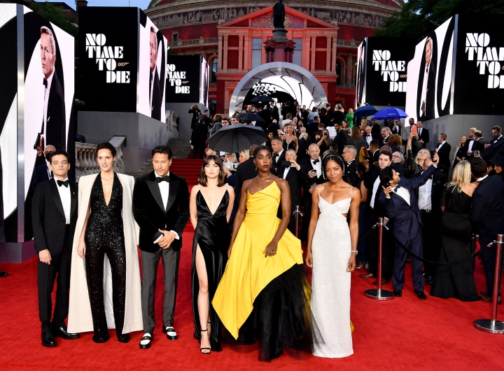 BOND'S WOMEN: 'NO TIME TO DIE' FEMME TAKE OVER THE REDCARPET